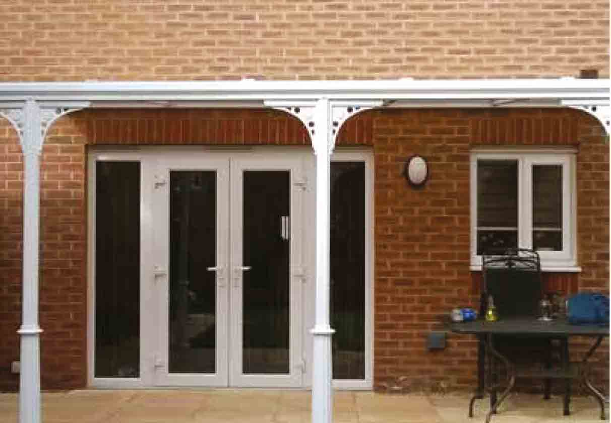 Canopies and Veranda Systems Ireland - Canopies & Walkway
