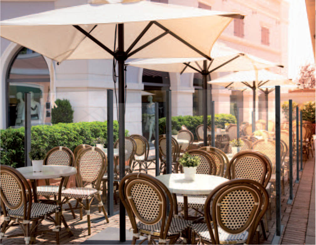 awnings.ie covid-19 restaurant screens image